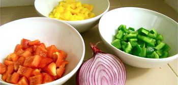 Recipe: Sweet pepper summer salad