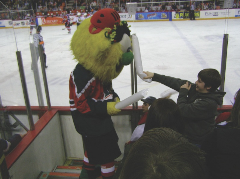 Hal won't be the only draw at this seasons Mooseheads games. Photo by RicLaf via flickr