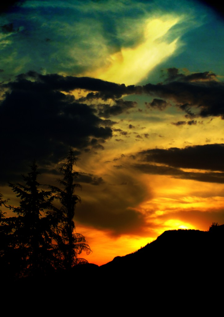 Sunset in Kamloops, BC, Stock photo from sxc.hu by emmysdaddy