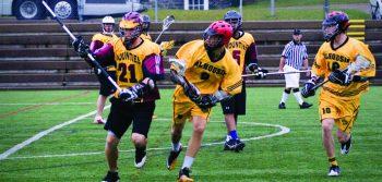 Mounties overwhelmed in lacrosse smothering