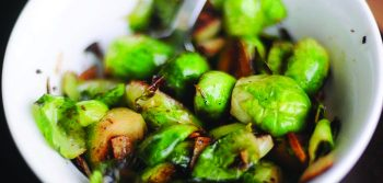 Recipe: Sautéed Brussels sprouts with cream