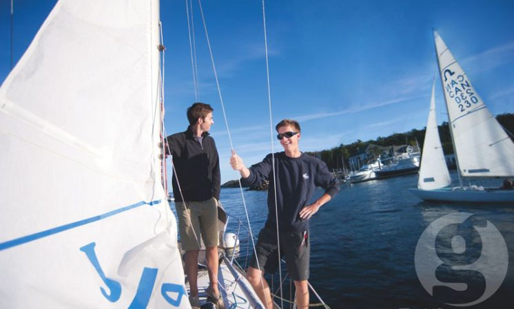 Dalhousie crew sails to France