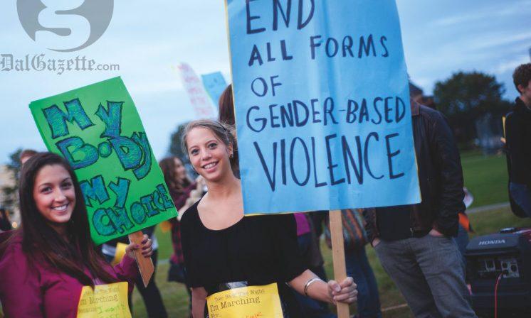 Women reclaim the streets of Halifax