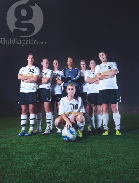 The future of soccer at Dal. Photo by Angela Gzowski