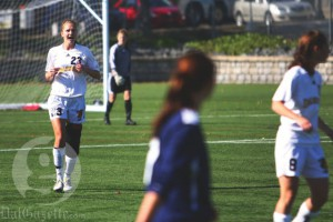 Women's soccer 4. Photo by Ian Froese