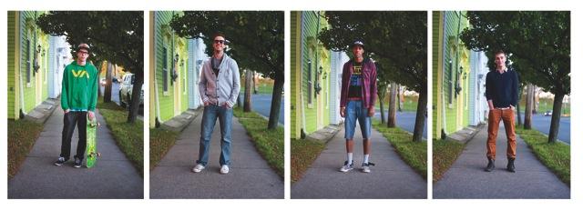 Men's fashion. Photo by Angela Gzowksi