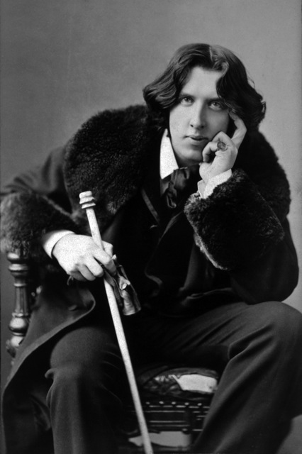Oscar Wilde. Photo by Napoleon Sarony