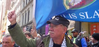 Veterans lead Occupy march Nov. 11
