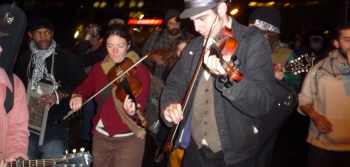 Occupy Wall Street: Fiddle Edition