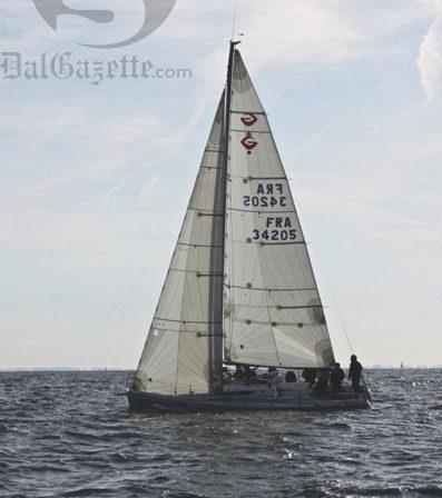Dalhousie sailors represent Canada