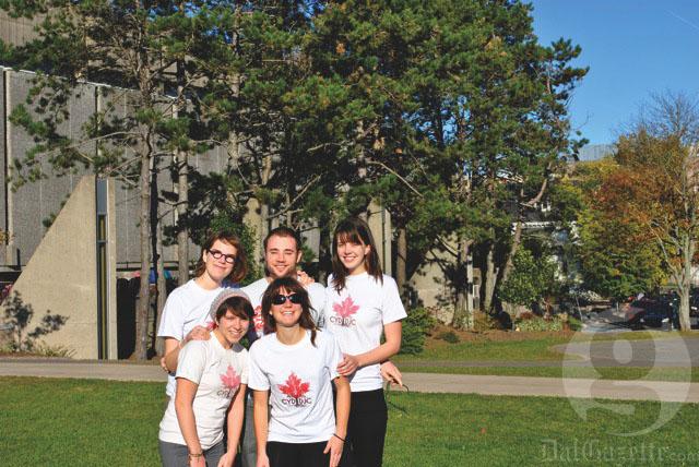 Dal's CYD team. Photo by Sarah Mateshaytis
