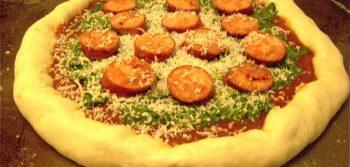 Recipe: Spinach Pesto Pizza