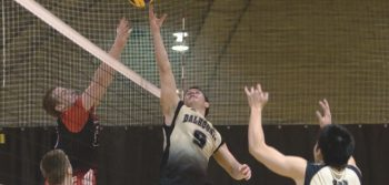 Online Exclusive: Men's volleyball on the prowl
