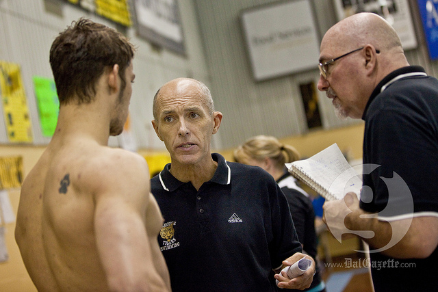 Swimming coach retires