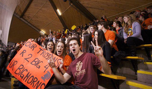 Trojans win on record-breaking night for IWK charity