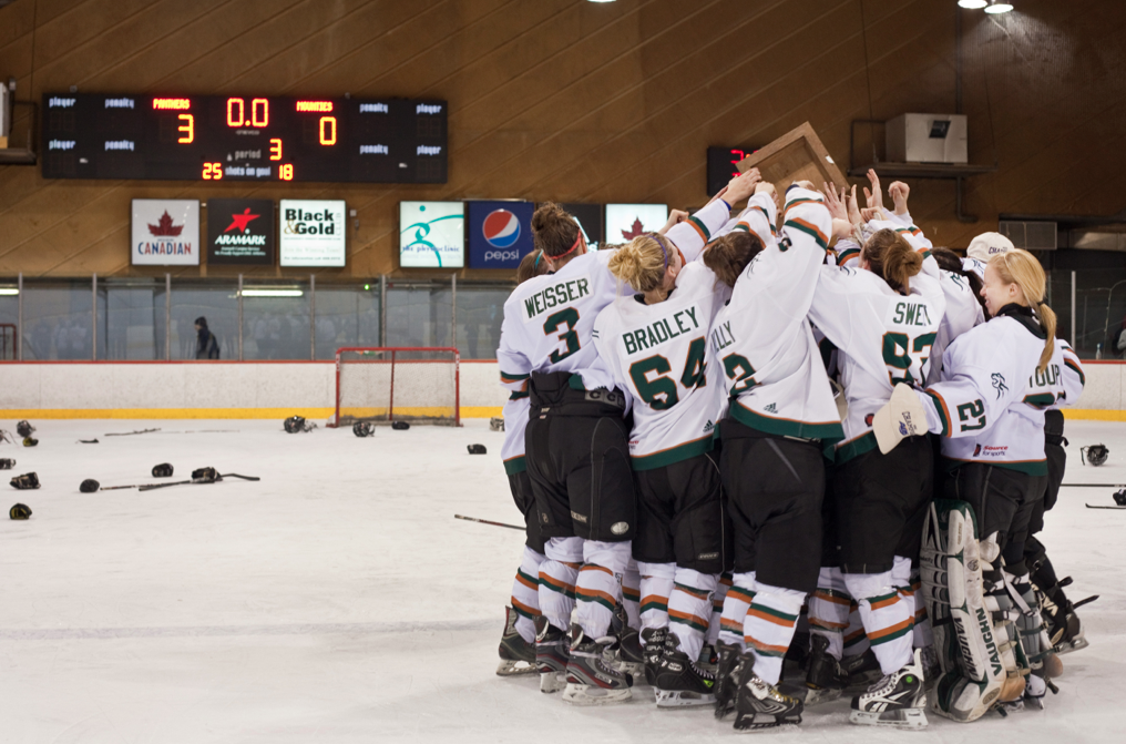 UPEI are AUS champs. Photo by Pau Balite.