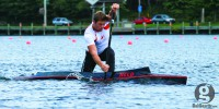 Paddles up: Jason McCoombs already has his sights set on a 2016 Olympic berth. (Bryn Karcha photo)