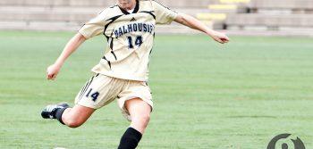 Eight-goal weekend for women's soccer