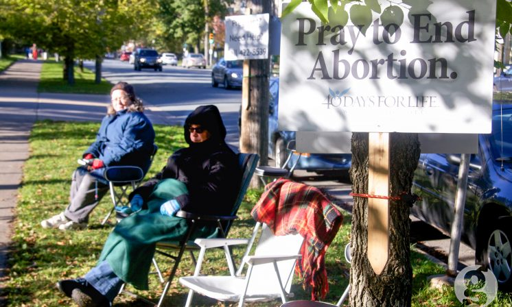 Streetscaping the abortion debate