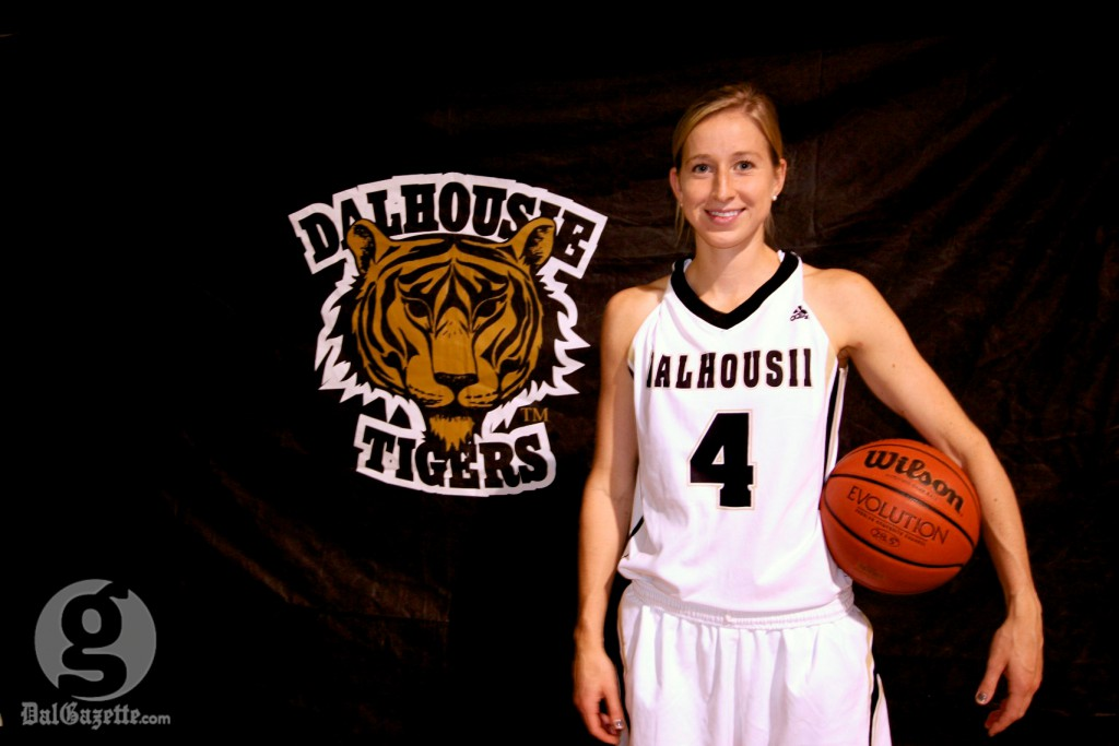 Anna von Maltzahn is no longer just a threat on the basketball court, but on the trail too. (Alice Hebb photo)