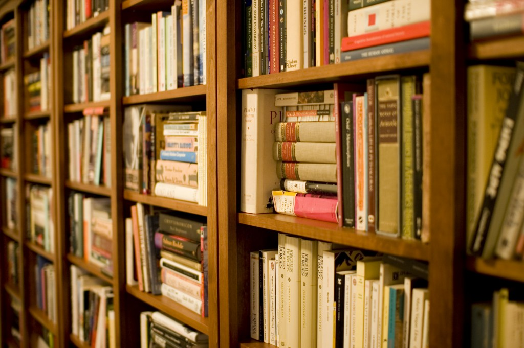 A few books can really round out your procrastination game. (Photo by Stewart Butterfield via Flickr.com)
