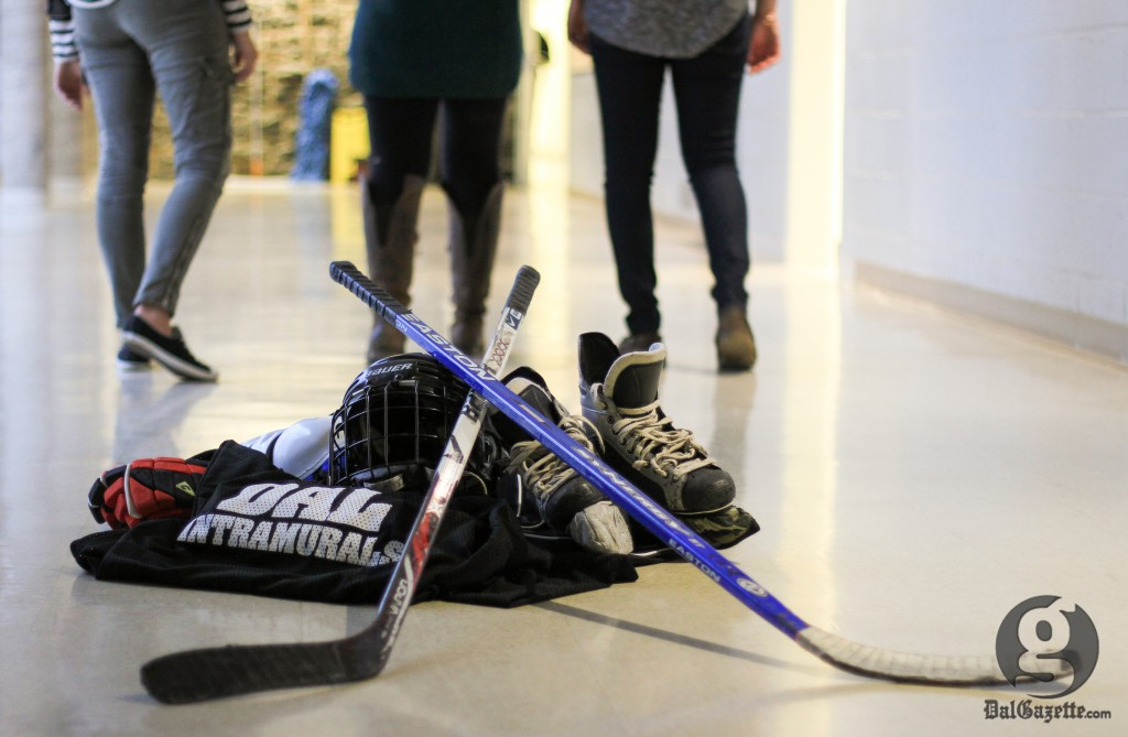 Some intramural players have walked away since losing Memorial Arena. (Bryn Karcha photo)