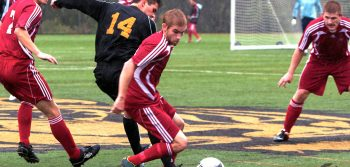 Men's soccer outclassed