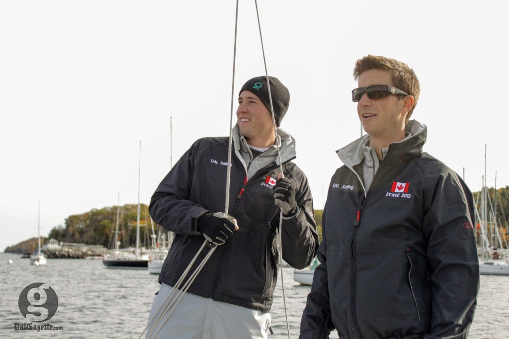 Dal's Ryan Himmelman and Jacob Saunders have set sail for France. (Photo supplied)