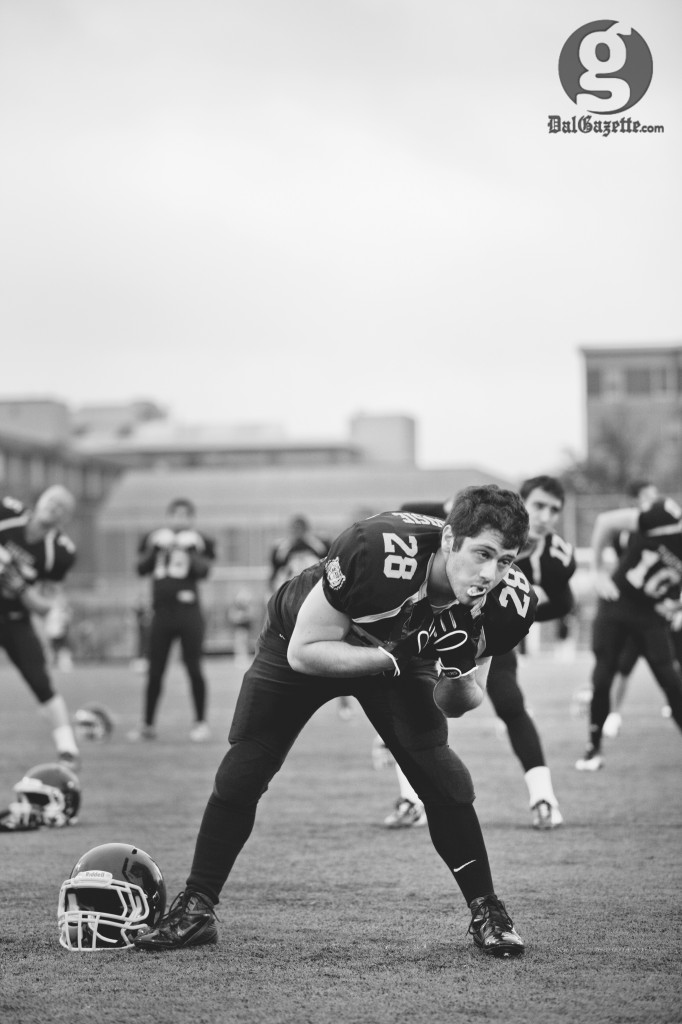 Dalhousie's football team returns home Oct. 13 for their final contest this season at Wickwire Field. (Pau Balite photo)