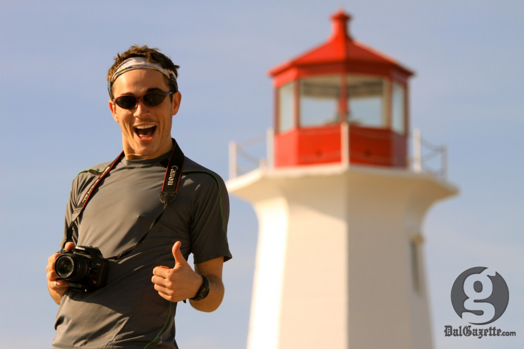 Every day is an adventure in travel for this Albertan author. (Bryn Karcha photo)