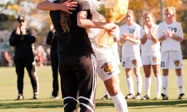 Women's soccer sends off grads