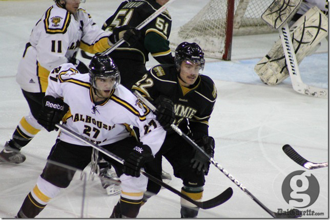 Dalhousie's Brett Theberge in action earlier this month. (Richard Lafortune photo)