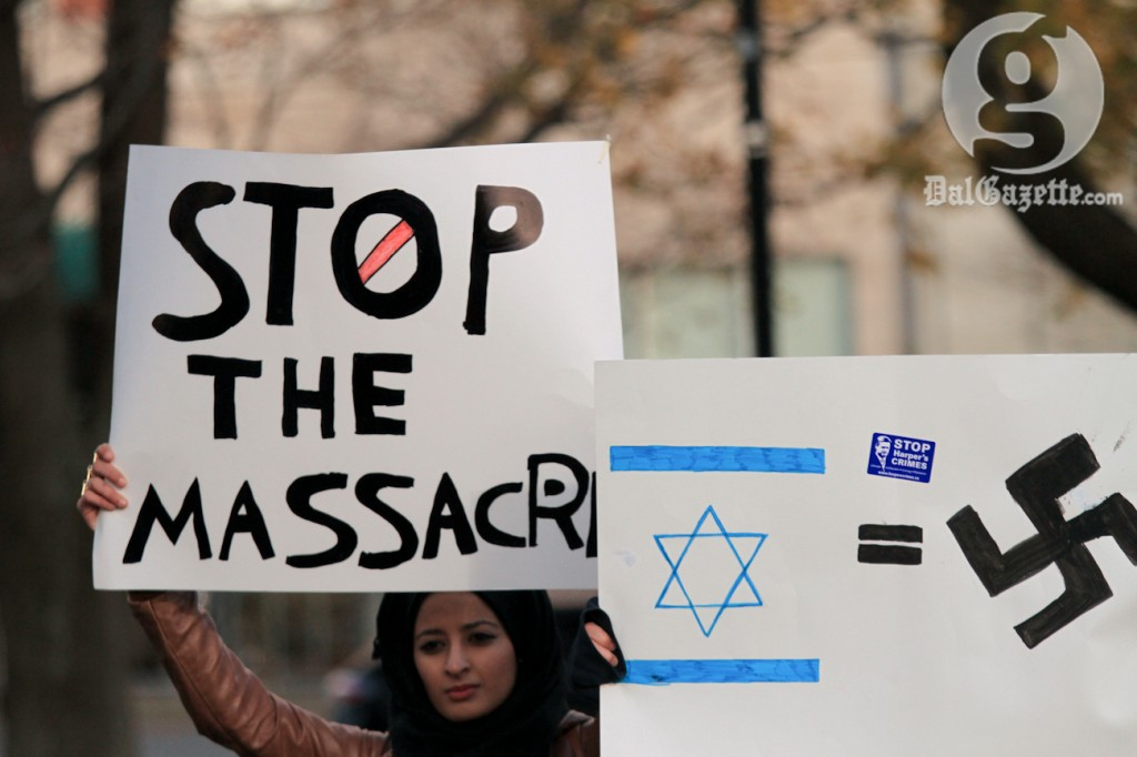 Israel's defensive actions are different than the acts of atrocity committed by the Nazis. (Bryn Karcha photo)
