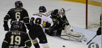 Men's hockey wins critical bout against UPEI