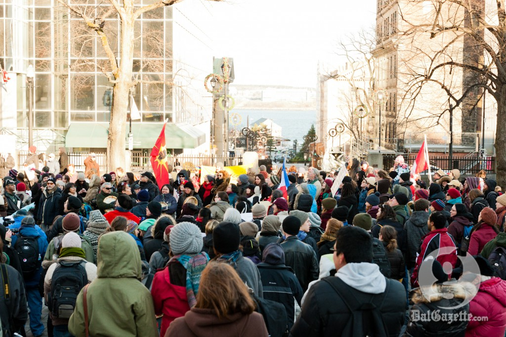 The Idle No More movement has thrust Canada- First Nations relations to centre stage. (Chris Parent photo)