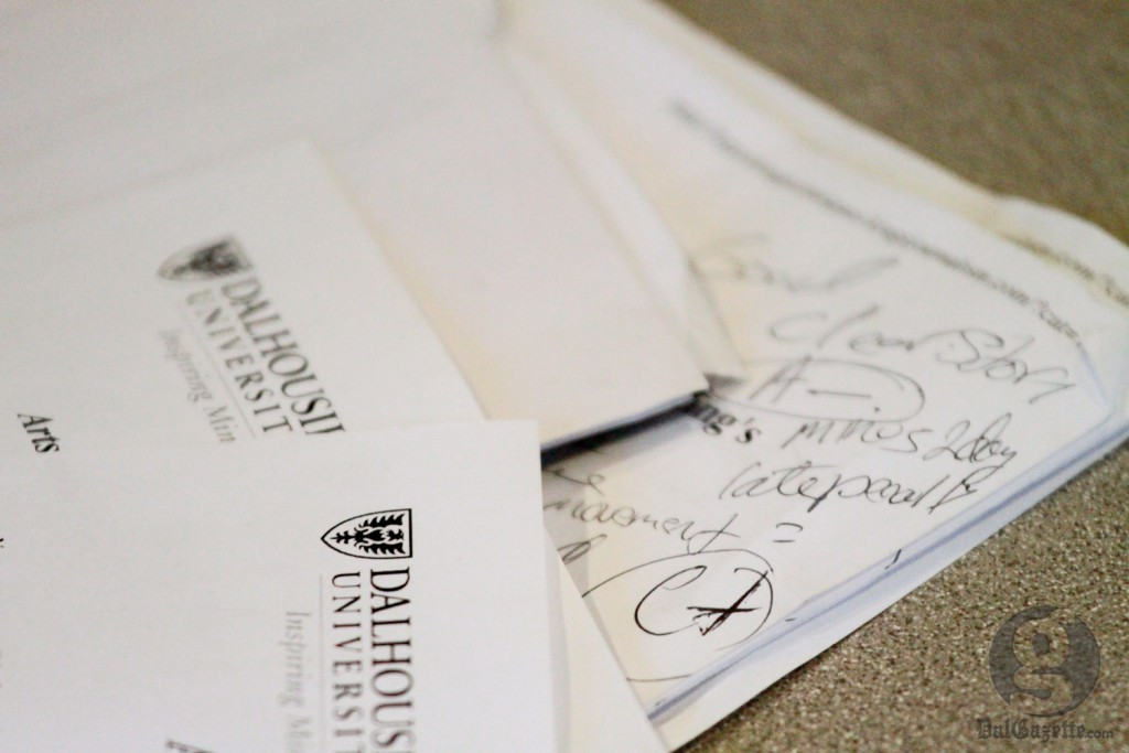 Unlike students, Dal profs face few penalties for submitting late work. (Bryn Karcha photo)