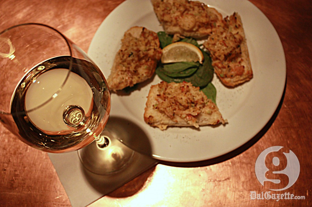 The richness of the Chardonnay and the richness of the lobster make this pairing a winner. (Jessica Emin photo)