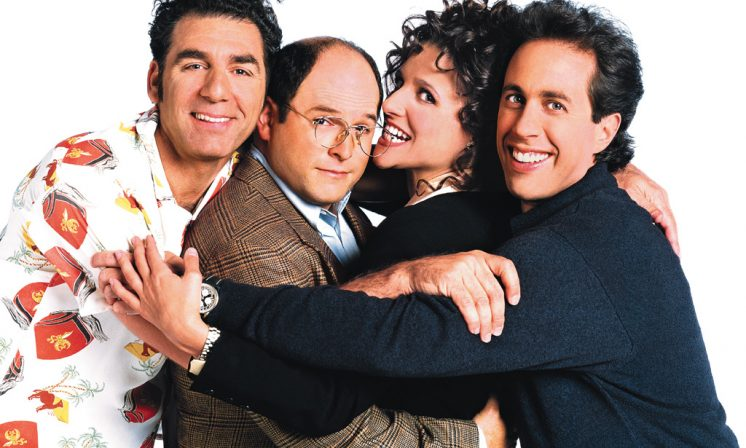 What would you say Seinfeld would do?