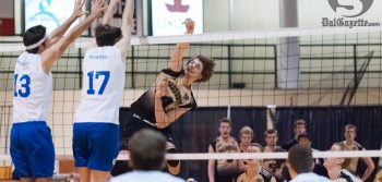 Locked in: men's vball holds their own