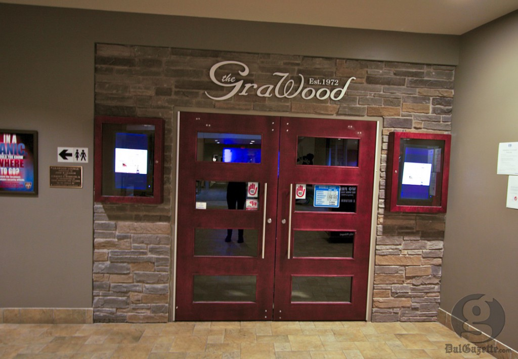 The Grawood's doors will be closed after lunch on Jan. 11 and on Jan. 12 (Alice Hebb photo)