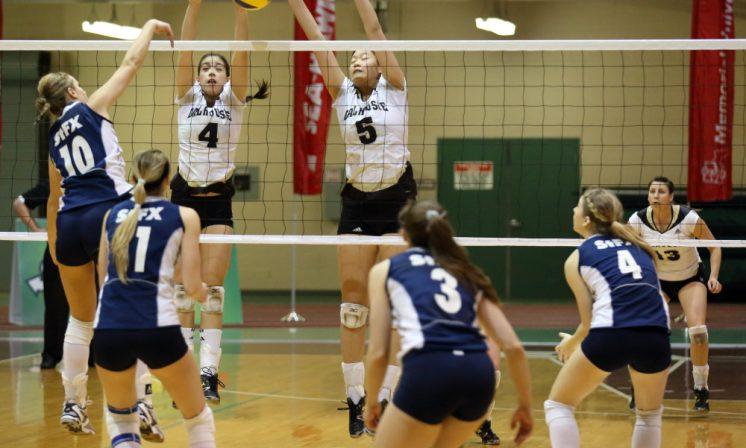 Women's volleyball one step closer to conference supremacy
