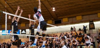 Men's volleyball title no longer Dal's to lose