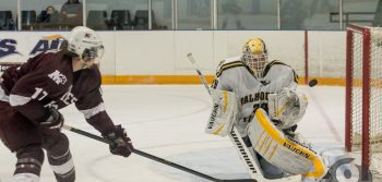 Men's hockey closes disappointing home sked