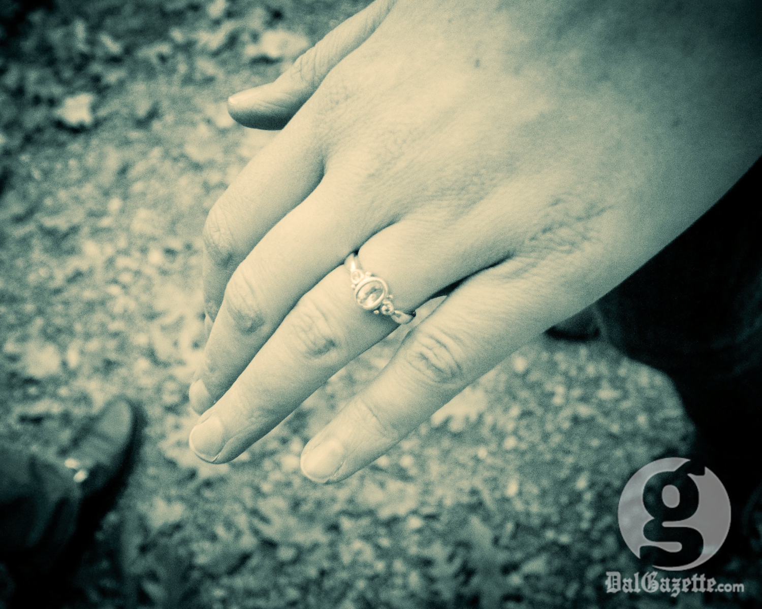 In South Korea, couples celebrate the hundredth day of their relationship with a ring. (Matt Glynn photo)