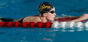 Women swimmers place fifth on national stage