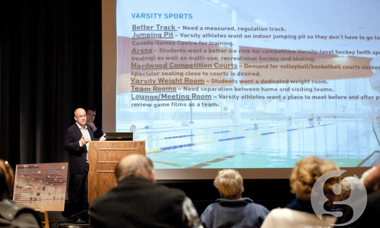 Public meeting shares little about new Dalhousie fitness facilities