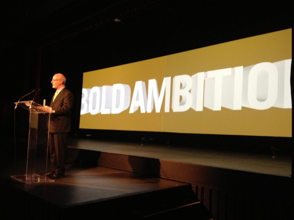 Dalhousie exceeds Bold fundraising target (Twitter photo via @Dalnews)