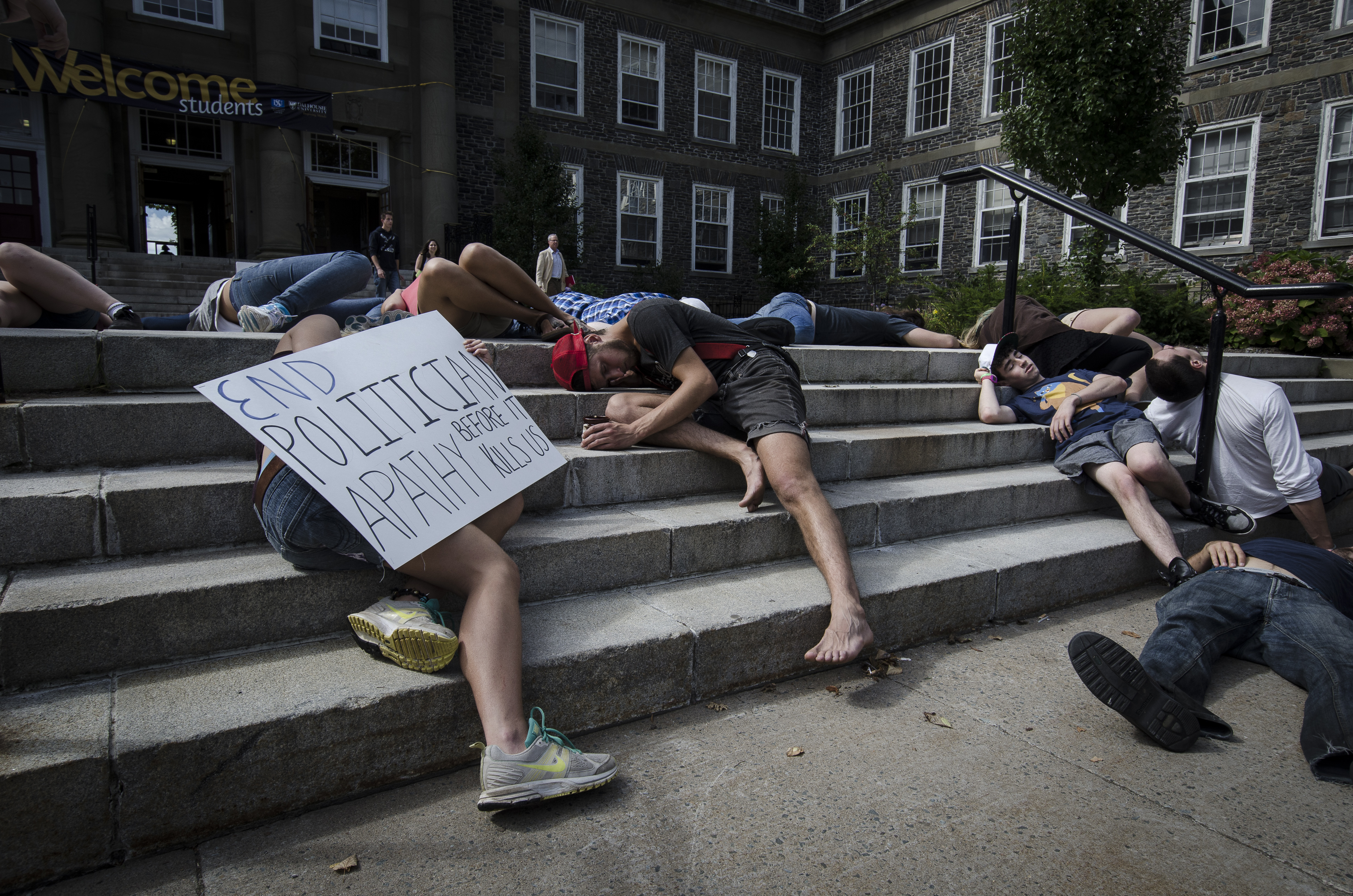 Students died to combat the perceived apathy of politicians. (Calum Agnew photo)