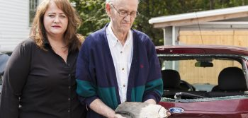 Rowdies vandalize WWII vet's car
