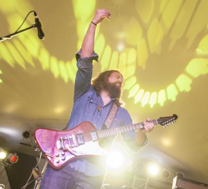 The Sheepdogs set was a whirlwind of solo-fuelled energy (photo by Chris Parent)